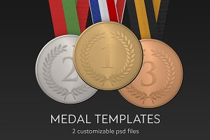Medal mockup