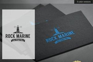 Lighthouse Rock Marine Logo