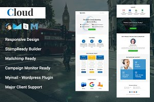 Cloud - Responsive Email Template