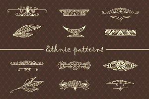 12 tribal ethnic patterns