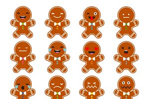 Set Emotions Gingerbread.