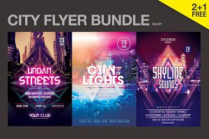 SALE% City Flyer Bundle Vol.01