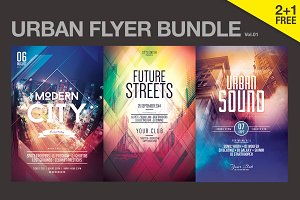 SALE% Urban Flyer Bundle Vol.01