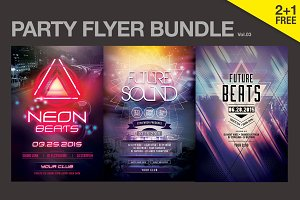 SALE% Party Flyer Bundle Vol.03