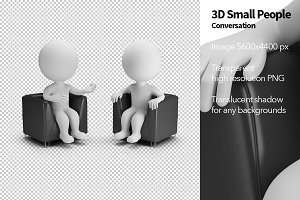 3D Small People - Conversation