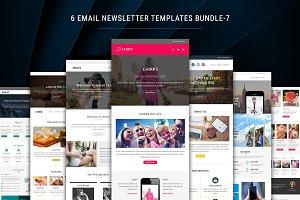 6 Newsletter Templates Bundle - 7