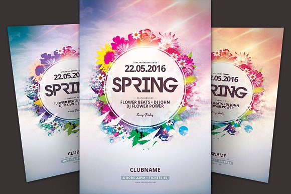 SALE% Summer Flyer bundle Vol.04 in Flyer Templates - product preview 1