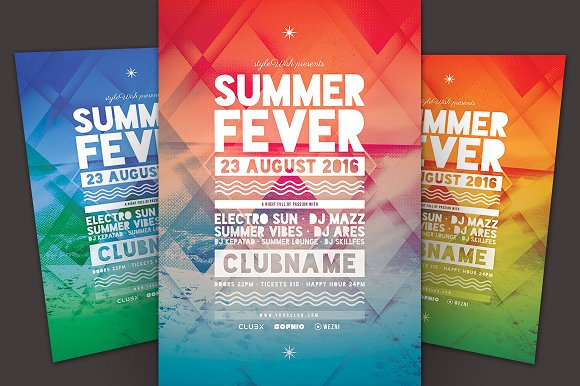 SALE% Summer Flyer bundle Vol.04 in Flyer Templates - product preview 2
