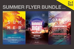 SALE% Summer Flyer Bundle Vol03