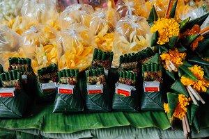 Religious offerings, Thailand
