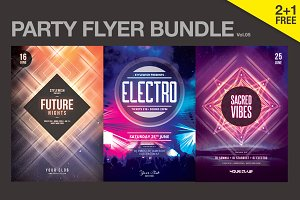 SALE% Party Flyer Bundle Vol.05