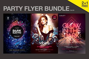 SALE% Party Flyer Bundle Vol.04
