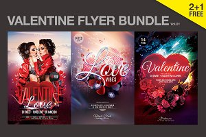SALE% Valentine Flyer Bundle Vol.01