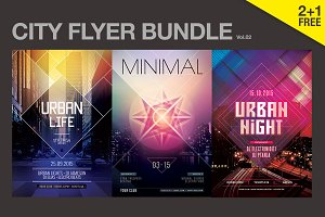 SALE% City Flyer Bundle Vol.02