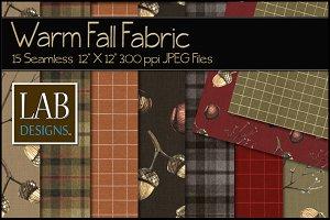 15 Warm Fall Fabrics