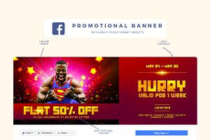 Facebook Cover For Promotion