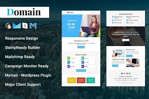 Domain - Responsive Email Template