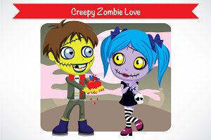 Creepy Zombie Love
