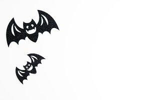 Black Halloween Bats