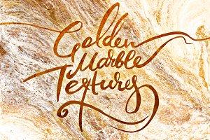 Golden Marble Textures
