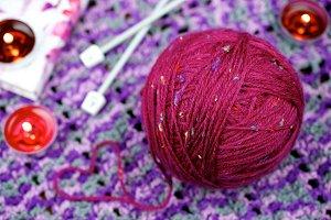 Knitting ball - wool