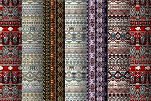 7 Aztec Patterns