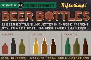 All Bottled Up: Beer Bottle Set