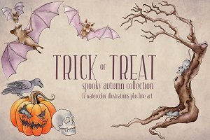 Trick or Treat Autumn Collection