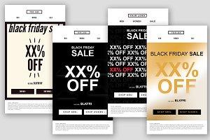 4 Black Friday Promotion Emails