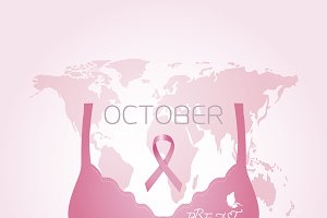 Breast cancer awareness design