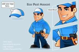 Eco Pest Mascot