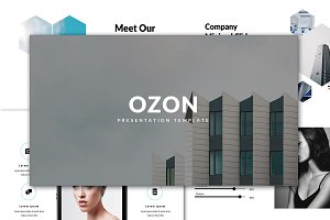 Ozon Minimal Keynote Template