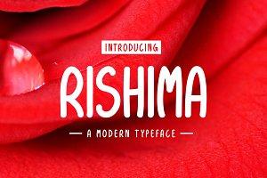 Rishima Typeface
