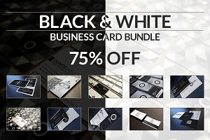 10 Black And White Business Cards