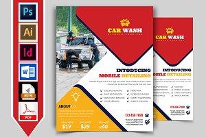 Car Wash Flyer Template Vol-10
