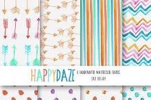Happy Daze Watercolor Paper Set
