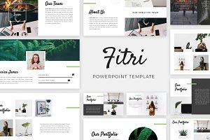 Fitri - Creative PowerPoint Template