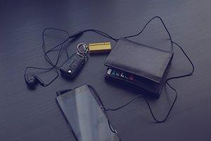 Phone, wallet and car keys 4