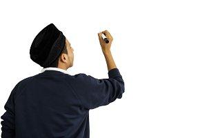 Muslim student (PNG)