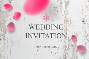 Wedding Invitation Template 01