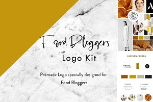 Food Blogger Logo Kit
