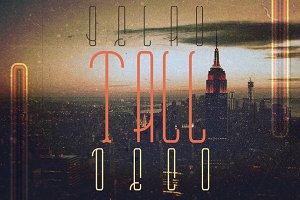 Belau Tall Deco Font Family