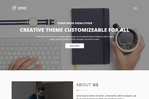 Bizniz – Creative Agency Template
