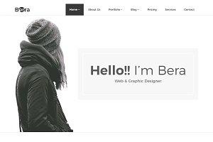 Berra – Minimal Portfolio Template