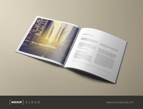 Download Square Brochure Mock-Up