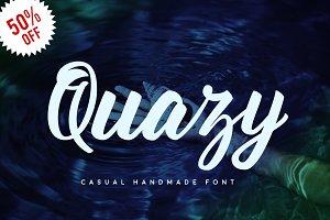 Quazy Handmade Font