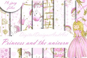 Princess and the unicorn