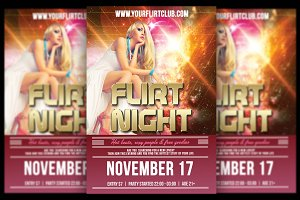 Flirt Night Flyer