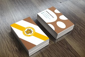 Business Card - Paw