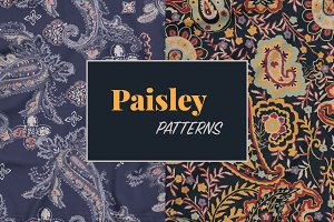 Paisley Pattern Set